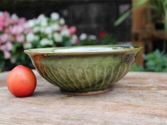 緑の盛り鉢[18Jun-12]《粉引》の画像