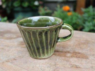 グリーンの器 カップ[18Jun-15]《釉薬》の画像