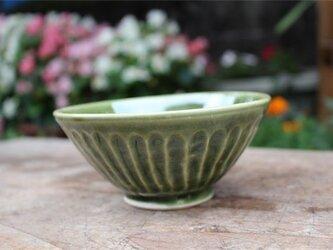 緑のお茶わん[18Jun-17]《粉引》の画像