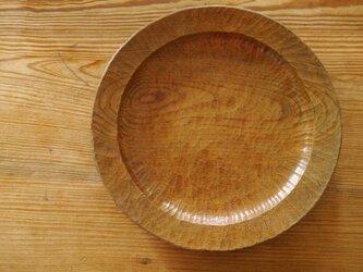 リム大皿300白茶 きはだ #0168の画像