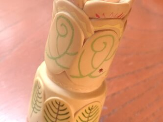 木彫りとはん子 花の画像