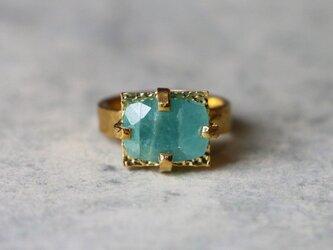 古代スタイル*天然グランディディエライト 指輪* 7.5号 GPの画像