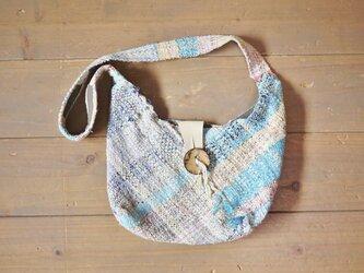 ◆SALE◆手織り 折り紙ショルダーバッグSの画像