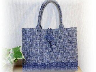 麻糸で織った夏バッグ B-101 の画像