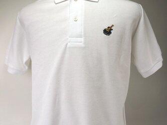 [クロスステッチ] レスポール ポロシャツの画像