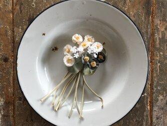 テディの花束......suMire-bouquet 布花コサージュの画像