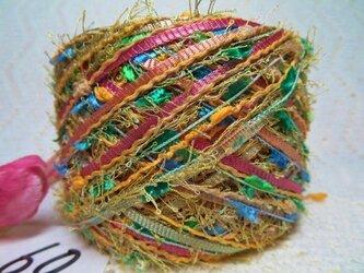 60♪花hana花♪染糸オリジナル引き揃え糸80gの画像