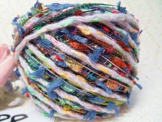 88♪hana花♪パピー糸&染糸オリジナル引き揃え糸60gの画像