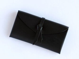 折りロングウォレット マグネットver#黒 / ori long wallet #blackの画像