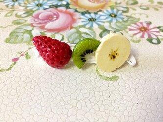 フルーツだらけのバレッタの画像