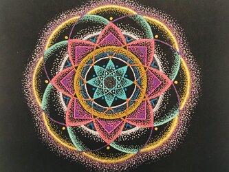 点描曼荼羅の画像