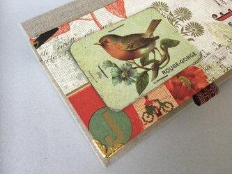鳥を愛する人のためのブック型BOX(深め)の画像