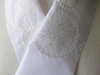 半衿・刺繍ポリ絽・花火・連打の画像