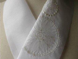 半衿・刺繍ポリ絽・花火・はじまりはじまりの画像