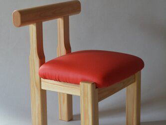子供椅子■NAGY 018-OKO・ak■ W268xD265xH340(SH210)の画像
