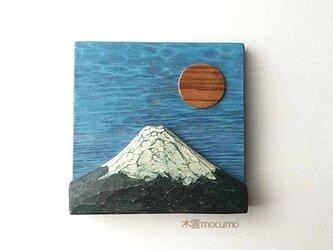 壁かけ 富士山 *青*の画像