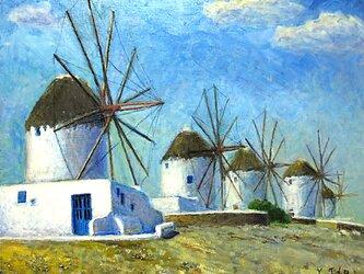 カト.ミリの風車の画像