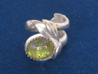 ベネチアングラスのリングの画像