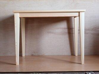 ダイニングテーブル・ヒノキ材の画像