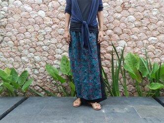 【受注製作】総刺繍ラップスカート付きパンツの画像