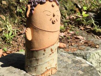 如来さま 陶器  置き物の画像