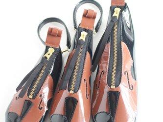 新バイオリン♪3点セット キーケース、ペンケース、リップケースの画像