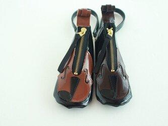 新バイオリン♪リップケース バッグチャームの画像