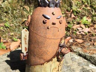 不動明王(お不動さま) 陶器  置き物 の画像