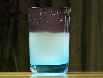 12星座のタンブラー 水色×青 (1個)の画像