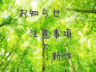 注意事項など ご一読くださいませ。(*^-^*)の画像