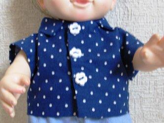 ぽぽちゃん、ちぃぽぽちゃん☆プリントシャツ&ショートパンツ(ドット)の画像