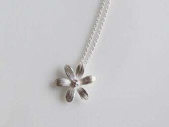 sv925 - 6枚の花びらのネックレスの画像