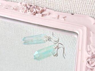 氷柱のピアス(チタン金具)の画像