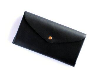 basic long wallet #black / ベーシックロングウォレット 長財布 #黒の画像