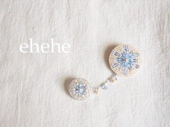 [生産終了品]tete-blueブローチの画像