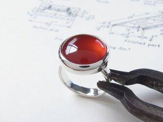 カーネリアンのリングの画像