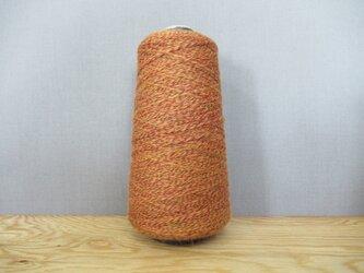 ウールの杢糸(もくいと) 全7色〈オレンジ系〉の画像