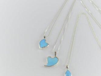 Turquoise Heart Pendant -S-の画像