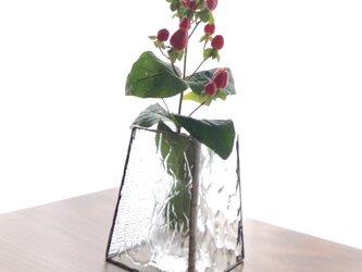 *再販*花瓶・quatre saisons (S・クリア)の画像
