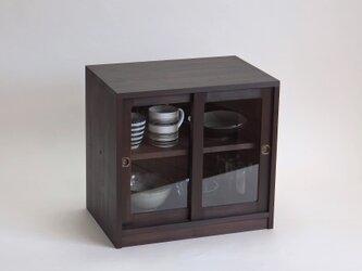 小さな戸棚 ミニキャビネット 昭和レトロ感の画像