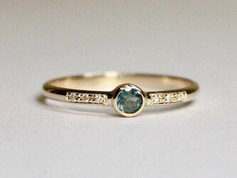 Alexandrite 3mm Ringの画像