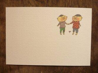 ポストカード いつもいっしょ  3枚セットの画像