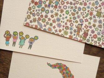 ポストカード いろいろmix (森の子・ありがと・龍)の画像