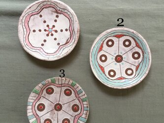 色絵丸小皿2の画像