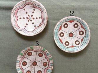 色絵丸小皿3の画像