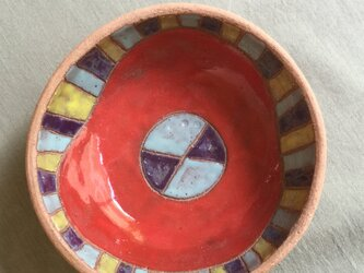 色絵丸小鉢の画像
