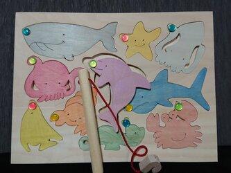 魚釣りセット カラーの画像