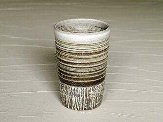 白と黒のロングカップ iBw-003の画像
