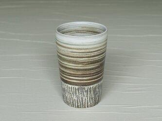 白と黒のロングカップ iBw-001の画像