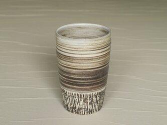 白と黒のロングカップ iBw-002の画像